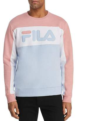 Fila Lesner Color-Block Fleece Logo Sweatshirt