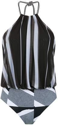 M·A·C Mara Mac striped bodysuit
