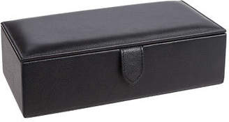 NEW Redd Leather Natural Milled Watch Box Black