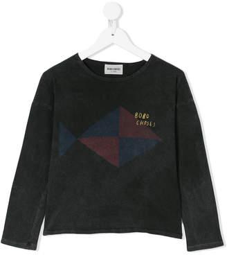 Bobo Choses geometric detail T-shirt
