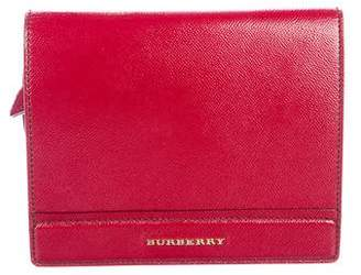 Burberry Leather Flap Bag