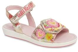 Lelli Kelly Kids Beaded Sandal