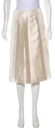 Tory Burch Beaded Knee-Length Skirt