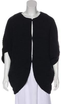 Zero Maria Cornejo Asymmetrical Wool Jacket
