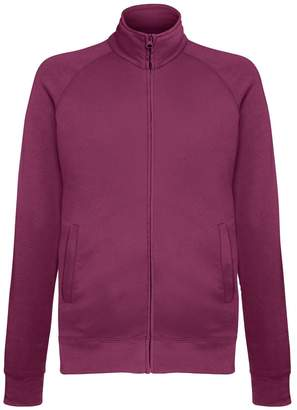 Fruit of the Loom Mens Lightweight Full Zip Sweatshirt Jacket (2XL)