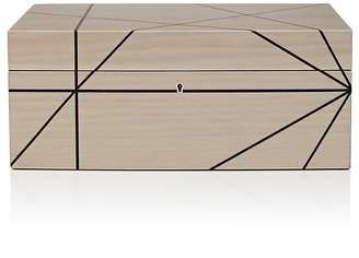 Ercolano Striped Wooden Jewelry Box