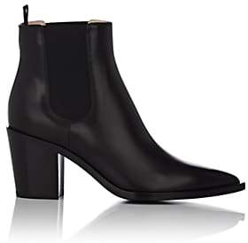 Gianvito Rossi Women's Leather Chelsea Boots - Black