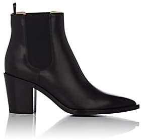 Gianvito Rossi Women's Leather Chelsea Boots - Black