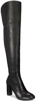 INC International Concepts Tyliee Over-The-Knee Boots, Only at Macy's $199.50 thestylecure.com