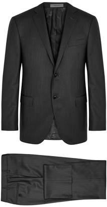 Corneliani Charcoal Wool Suit