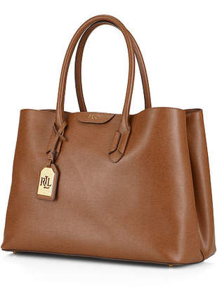 Ralph Lauren Leather Tate City Tote