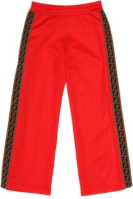 Fendi Cotton-blend trackpants