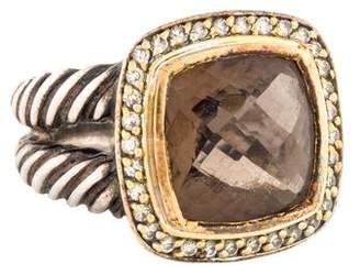David Yurman Quartz & Diamond Albion Ring