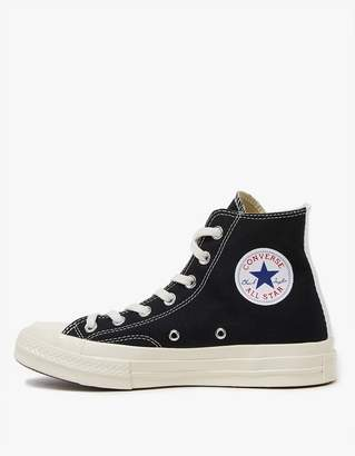 Comme des Garcons Play Converse High in Black