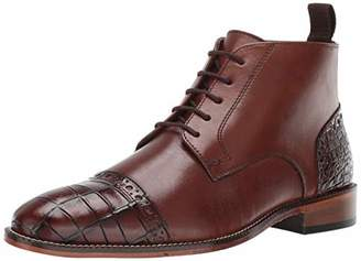 Stacy Adams Men's Franco Cap Toe Lace-Up Chukka Boot