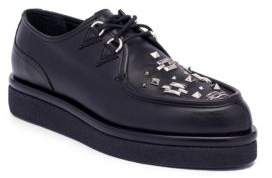 Valentino Studded Leather Oxfords