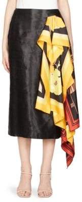 Dries Van Noten Scarf Wrap Skirt