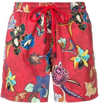 Etro floral swim shorts