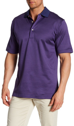 Peter Millar Felix Houndstooth Jacquard Polo $98 thestylecure.com