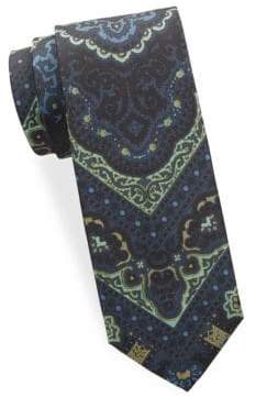 Tom Ford Printed Silk Tie
