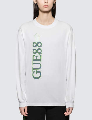 GUESS 88rising X 88 Rising Long Sleeve Graphic T-Shirt