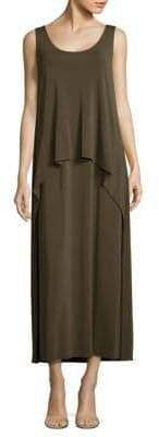 Lafayette 148 New York Madina Layered Crepe Maxi Dress