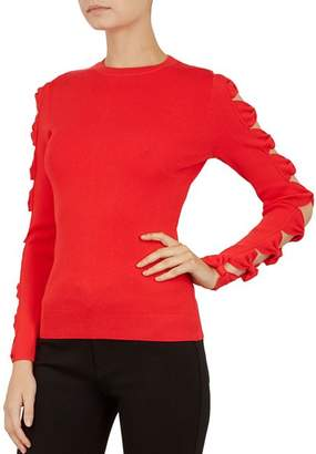 Ted Baker Yonoh Cutout Bow-Sleeve Sweater