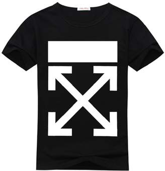 Off-White Men's T-shirt Short Sleeves White/