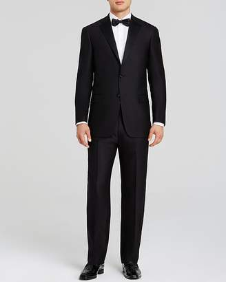 Hart Schaffner Marx Platinum Label Basic Black Classic Fit Tuxedo - 100% Exclusive $995 thestylecure.com