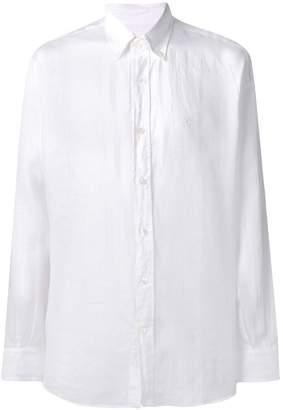 Salvatore Ferragamo classic plain shirt