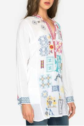 Johnny Was Juno Embroidered Tunic