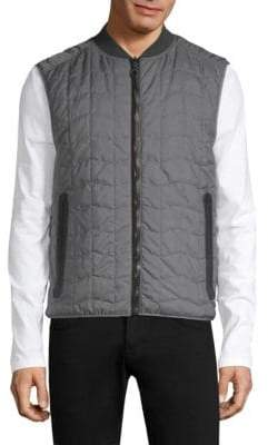 Salvatore Ferragamo Reversible Quilted Vest