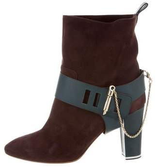 Moreschi Suede Ankle Boots