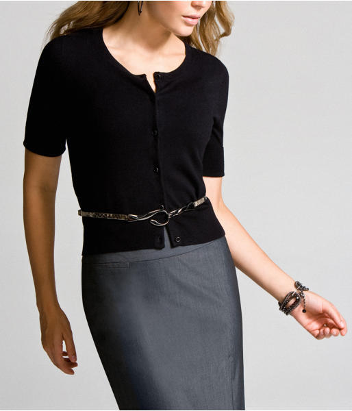 Elbow-Length Sleeve Cardigan