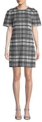 Calvin Klein Plaid Shift Dress
