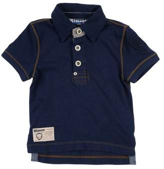 Blauer Polo shirt
