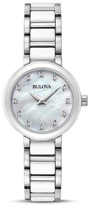 Bulova Modern Round Watch, 28mm