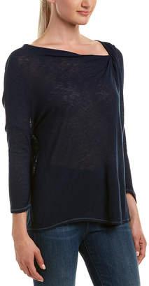 Three Dots Dolman Wool-Blend Top