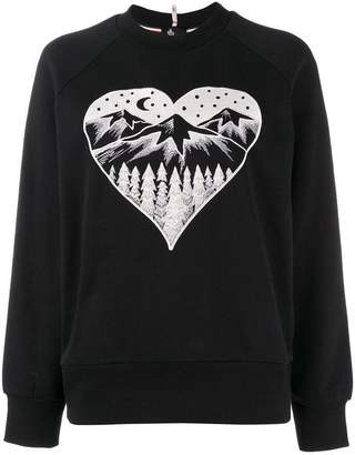 Moncler Après Ski embroidered sweater