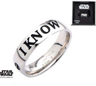 Star Wars Punkiss I Love You, I Know Ring Special Edition Premium Gift Couple Han Leia, Size, .10.11.12