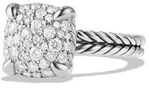 David Yurman Châtelaine Ring with Diamonds in Sterling Silver