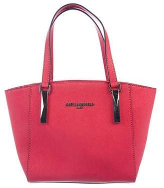 Karl Lagerfeld by Saffiano Leather Tote