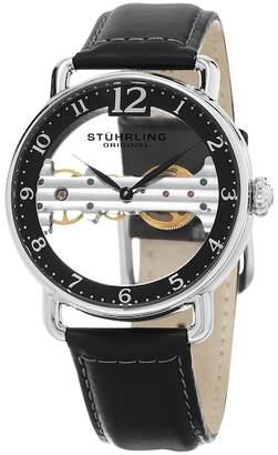 Stuhrling Men's Mechanical Skeletonized Bridge Dress Watch $139.97 thestylecure.com