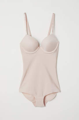 H&M Light Shaping Bodysuit - Beige