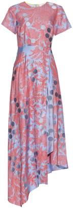 Jonathan Saunders Polly paisley-print twill dress