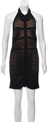 Balmain Halter Mini Dress