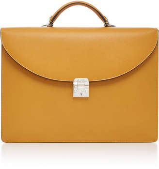 Mark Cross Maddox Saffiano Leather Briefcase