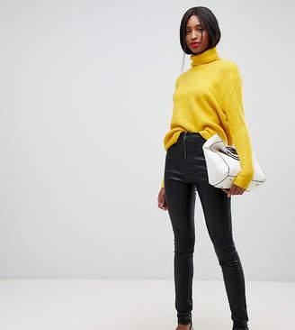 Vero Moda Tall faux leather pants