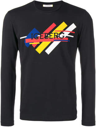 Iceberg logo sweater