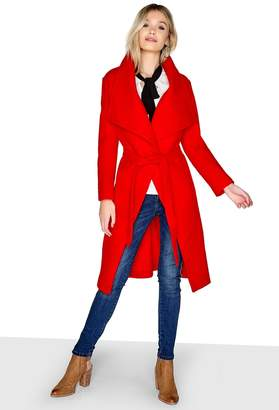 Girls On Film Outlet Red Coat